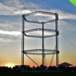 Big Delta - самый большой в мире трехмерный принтер, способный печатать дома и другие здания