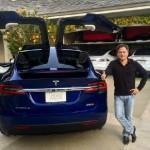 Глава NVIDIA хвастается новым кроссовером Tesla Model X